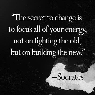 quote secret to change