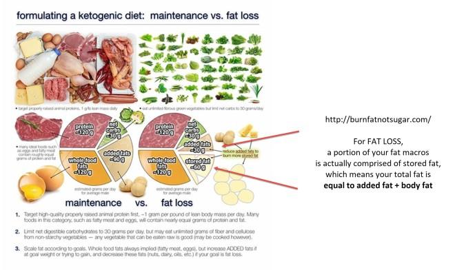 ted naimen maintenance versus fat loss